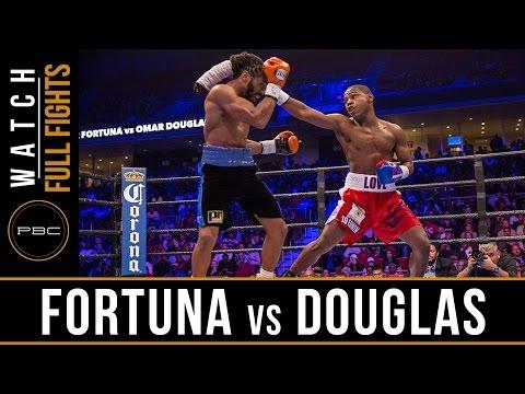 Fortuna vs Douglas FULL FIGHT: November 12, 2016 - PBC on Spike