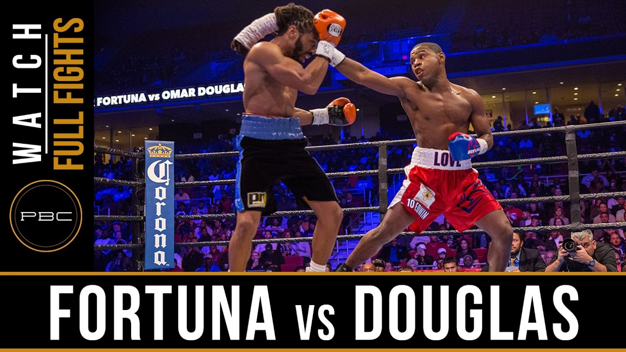 Fortuna vs Douglas FULL FIGHT: November 12, 2016 - PBC on Spike