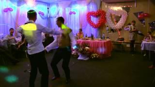 Танец жениха и свидетеля.Выкуп за украденную невесту.