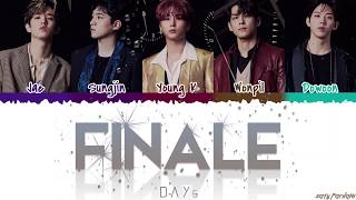 DAY6 (데이식스) - 'FINALE' Lyrics [Color Coded_Kan_Rom_Eng]