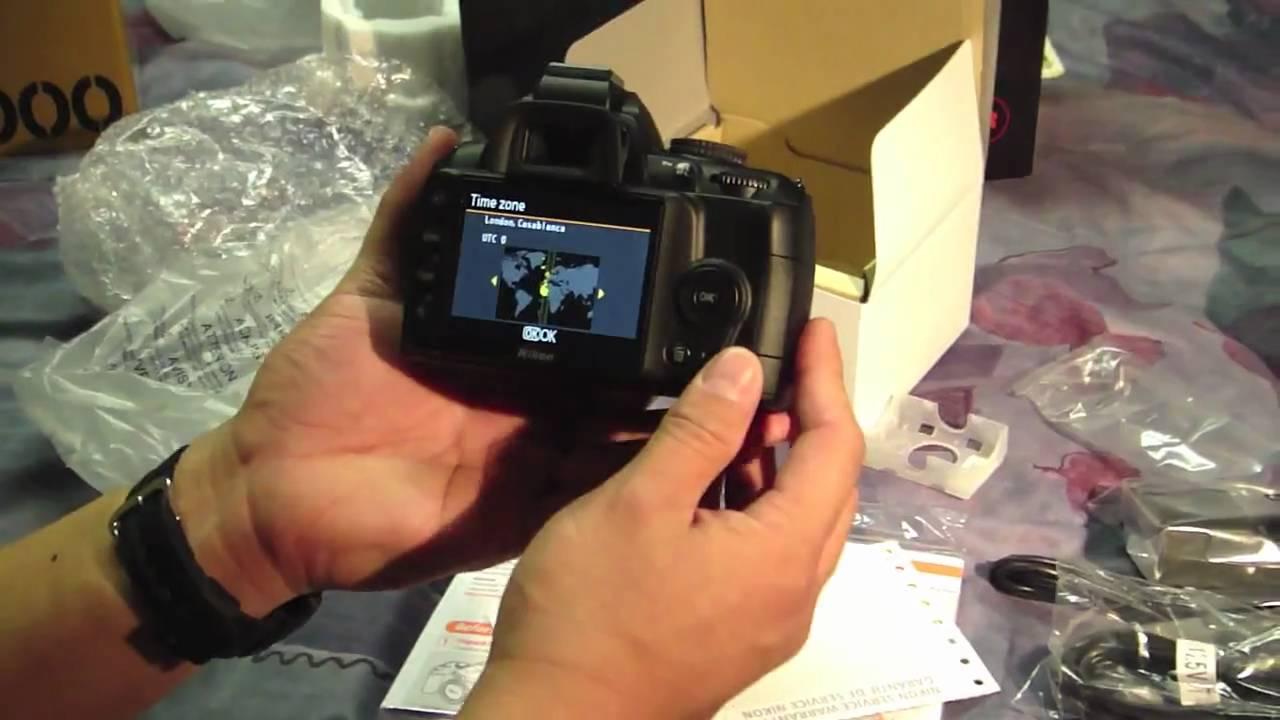 Nikon d3000 digital slr camera youtube nikon d3000 digital slr camera baditri Images