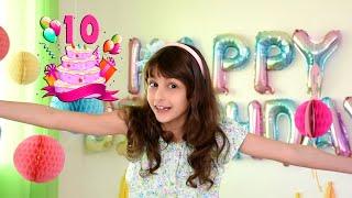 عيد ميلاد النجمة زينب - صار عمرها 10 سنوات ! / Zeinab's tenth birthday