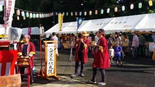 師戸囃子保存会 宗像奉納太鼓 2016年 平賀学園台夏祭り