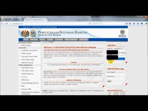 PSB UUM e-Resources