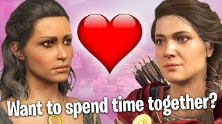 Finding Love in the NEW Assassins Creed? (Exclusive E3 Gameplay)