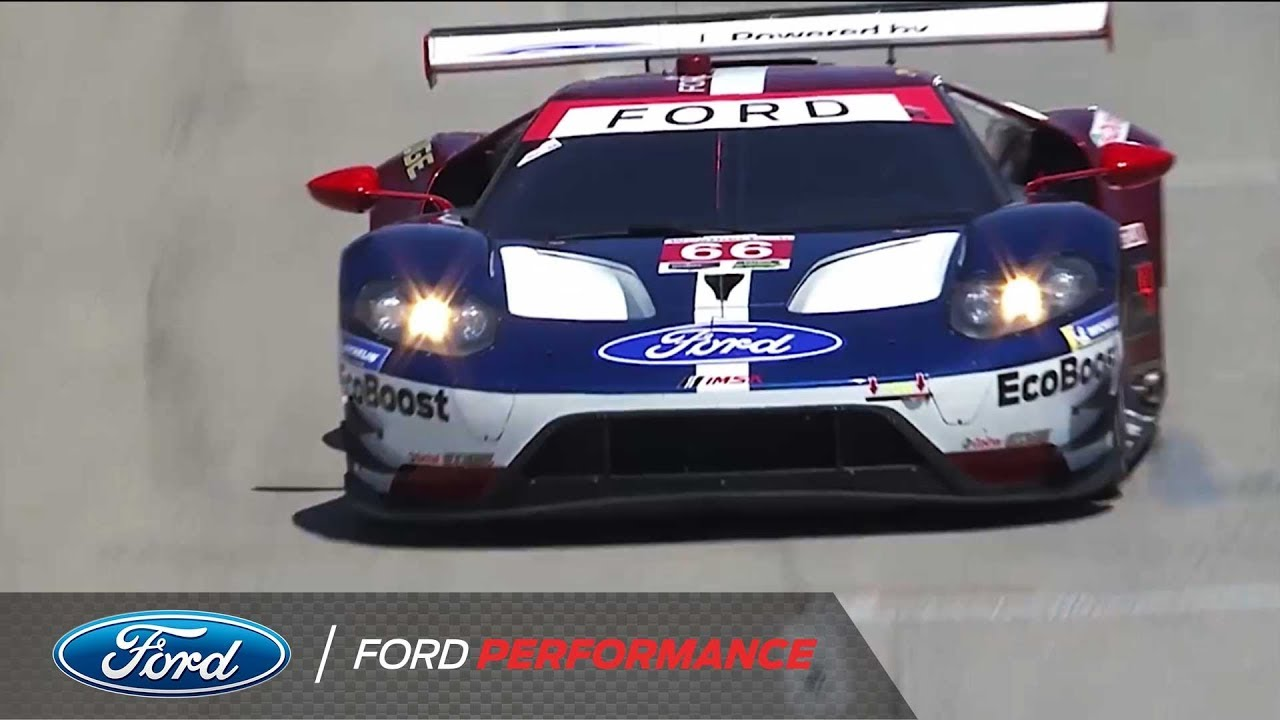 Get Ready For Petit Le Mans With Top Imsa Ford Gt Moments Of  Ford Performance
