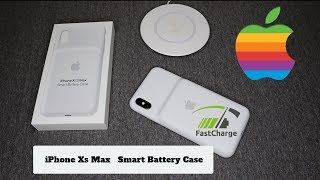 iPhone Xs Max Smart Battery Case! |Review|