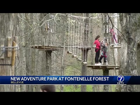 Adventure park to open at Fontenelle Forest
