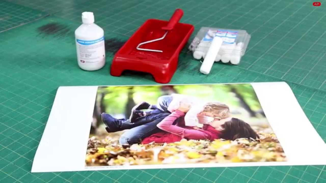 Nuevo barniz ap para papel inkjet foto youtube - Marcos de papel para fotos ...