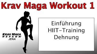 Krav Maga Workout 1 2021