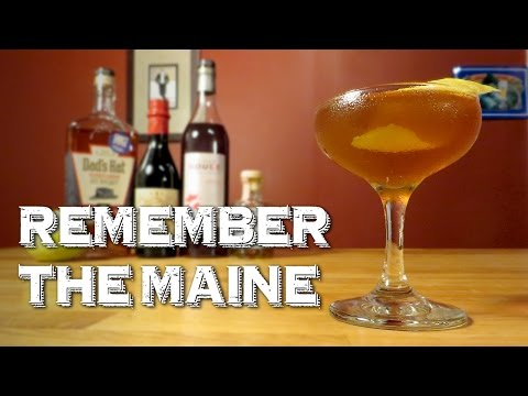 Remember the Maine - a Cuban Remix of the Whiskey Classic, the Manhattan