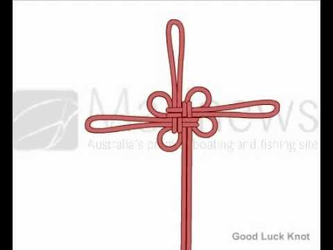 How To Tie Good Luck Knot Youtube