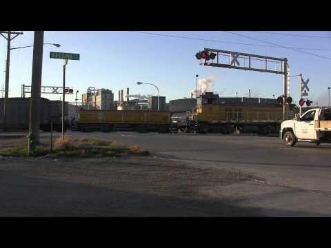 CRANDIC Switching Coal Cars Into ADM Cedar Rapids,IA