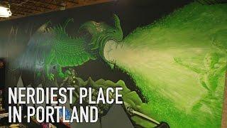 Nerdiest Place In Portland? | Guardian Games Tour