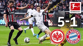 Eintracht Frankfurt vs. Bayern München I 5-1 I Highlights I The Final Game for Bayern Coach Kovac