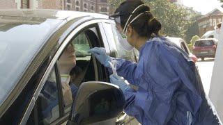 Hospital de Bilbao realiza test de coronavirus a sanitarios