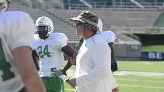 Marshall University Football Practice