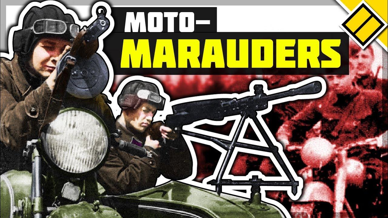 Moto-Marauders: WW2 Soviet Lend-Lease Motorcycle Units
