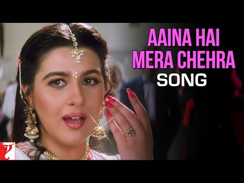 Aaina Hai Mera Chehra - Song | Aaina | Jackie Shroff | Juhi Chawla | Amrita Singh