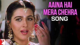 Aaina Hai Mera Chehra Song | Aaina | Jackie | Juhi | Asha Bhosle, Lata Mangeshkar, Suresh Wadkar