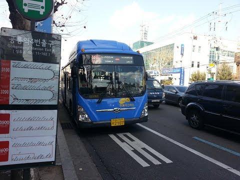 (BUS)[서울 간선] 105번 공릉역-회현역(남대문시장) 주행영상(Gongneung station-Hoehyeon station(Namdaemun Market))