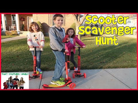SCOOTER SCAVENGER HUNT / That YouTub3 Family