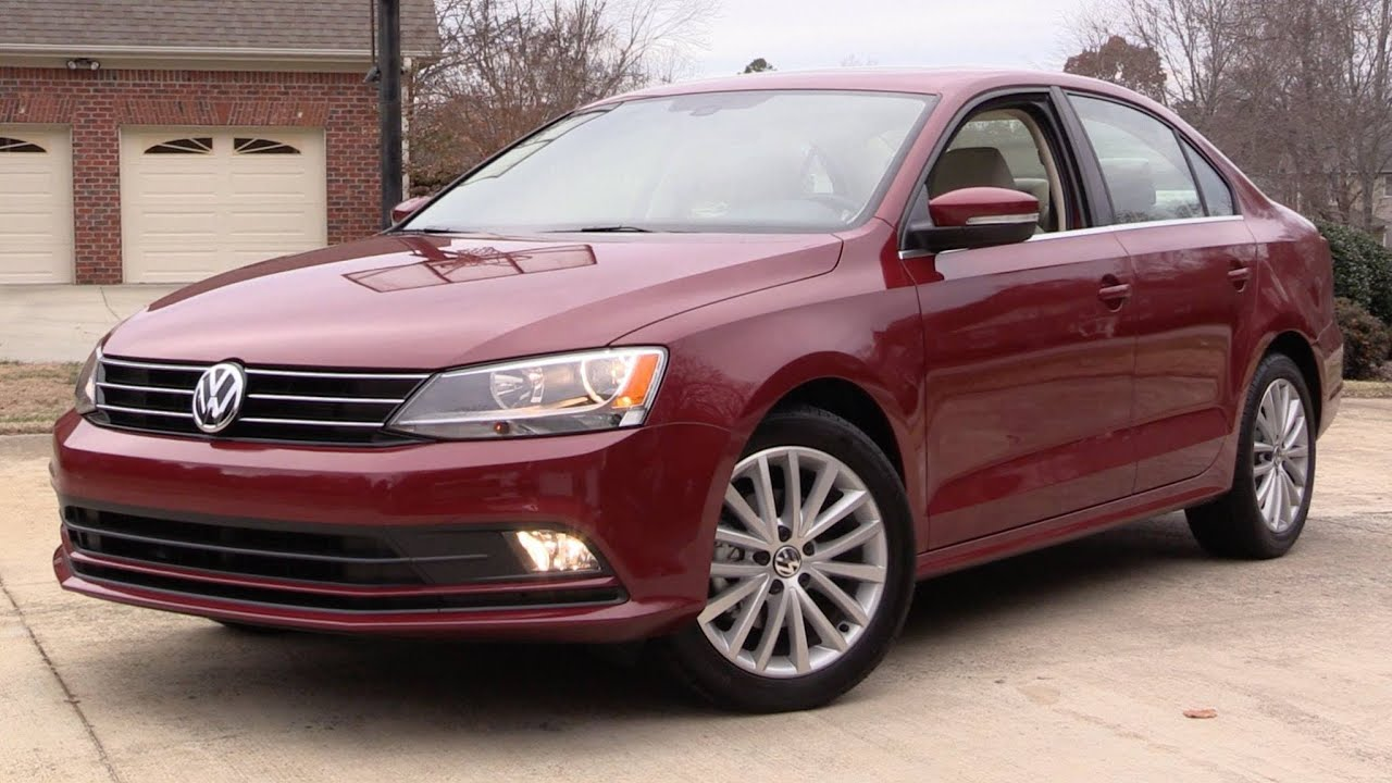 2016 Volkswagen Jetta SEL TSI (1.8t) Start Up, Road Test, and In Depth Review - YouTube