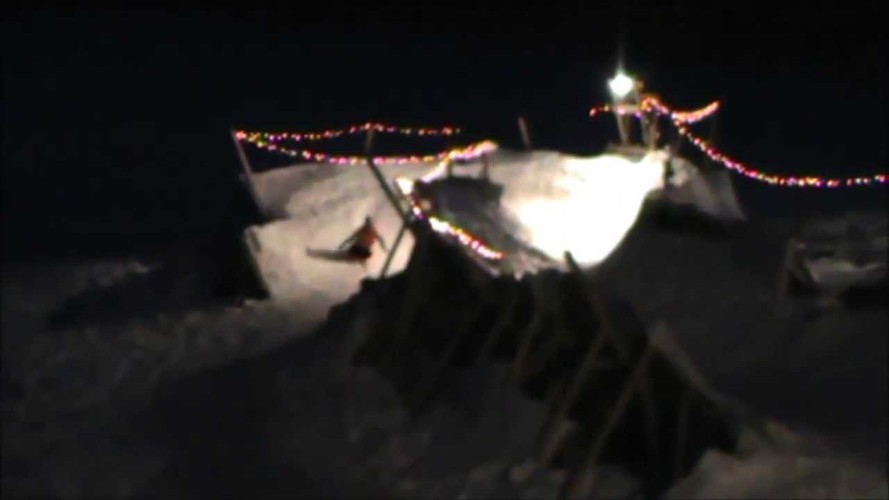 fastest backyard sled run ever youtube