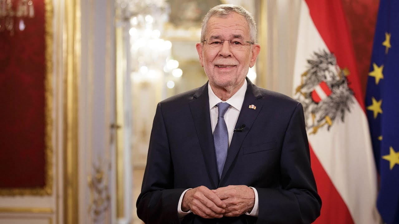 Alexander Van Der Bellen Austrian President Pays Tribute To The Eu