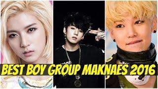 BEST K-POP BOY GROUP MAKNAES - 2016