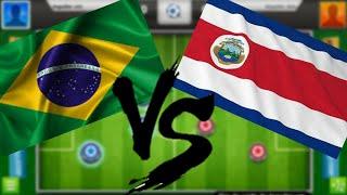 brasil x costa rica melhores momentos completo