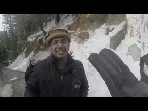 Travel Diary - Office Trip - Lahore to Murree Hills - Snow and GOPRO