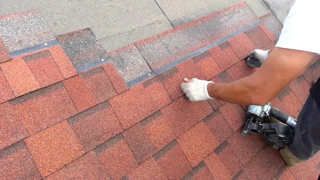 Montaż Gontu Owens Corning Duration Terracotta Youtube