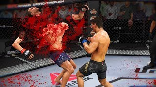 ЗАБРАТЬ ДУШУ ЧЕЛОВЕКА в  СТИЛЕ ПАУЛО КОСТА UFC 3 НОКАУТЫ