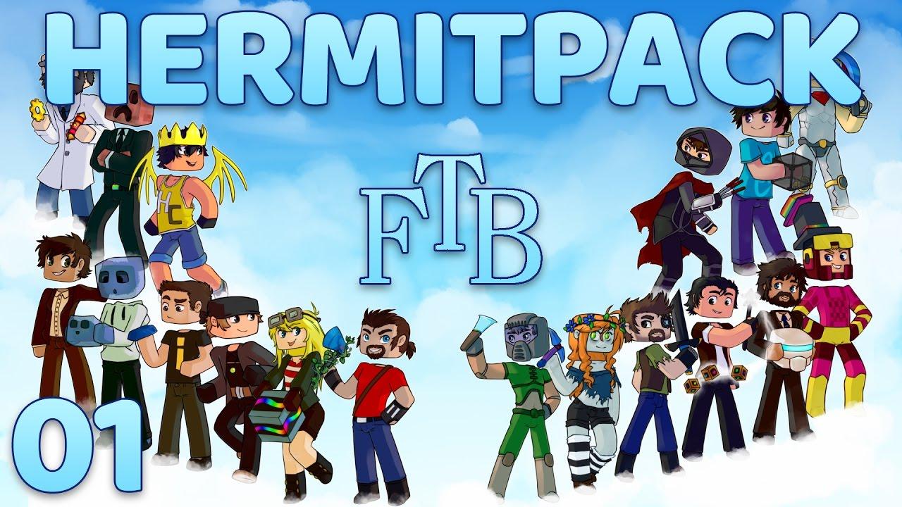 Hermitpack Modded Minecraft 1.10
