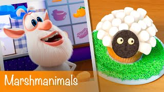 Booba - Food Puzzle: Marshmanimals - Episode 10 - Cartoon for kids
