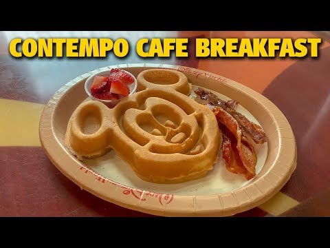 Contempo Cafe Breakfast | Disney's Contemporary Resort