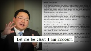 Accused 1MDB mastermind Jho Low proclaims innocence on new site