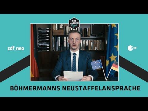 Böhmermanns Neustaffelansprache   NEO MAGAZIN ROYALE mit Jan Böhmermann - ZDFneo