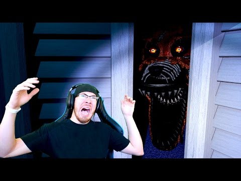 FIVE NIGHTS AT FREDDY'S 4 GAMEPLAY! FNAF 4 LIVE! (FNAF 4 GAM