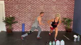Lower Body 2-Gallon Home Workout