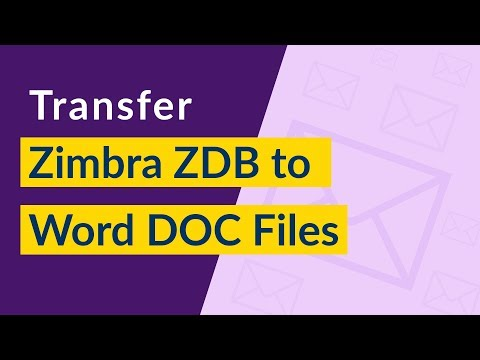 zdb-to-doc-converter-working-tutorial-|-how-to-save-zimbra-zdb-emails-as-word-documents