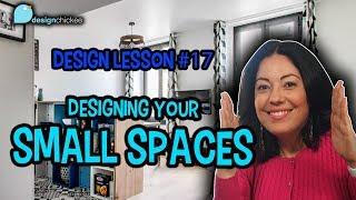 Design Your Small Space - Design Lesson 18