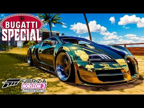 Η BUGATTI ΤΩΝ 3ΩΝ ΕΚΑΤΟΜΜΥΡΙΩΝ | Forza Horizon 3 Special
