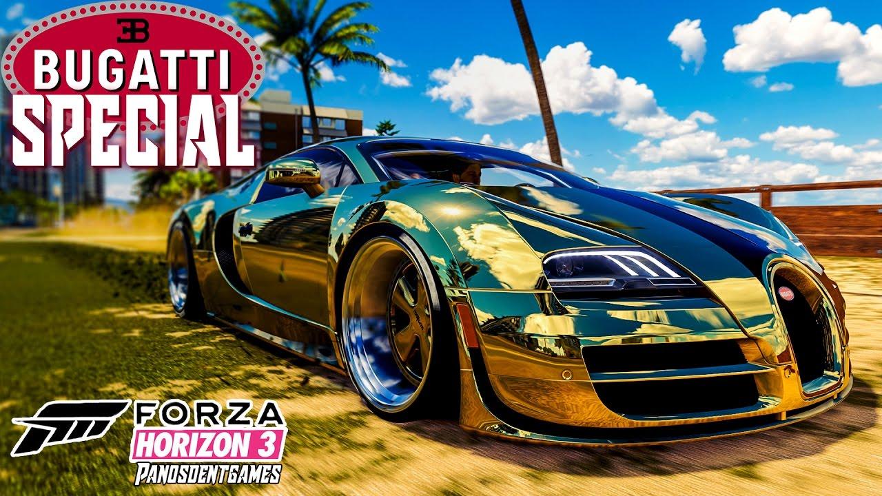 Η BUGATTI ΤΩΝ 3ΩΝ ΕΚΑΤΟΜΜΥΡΙΩΝ   Forza Horizon 3 Special