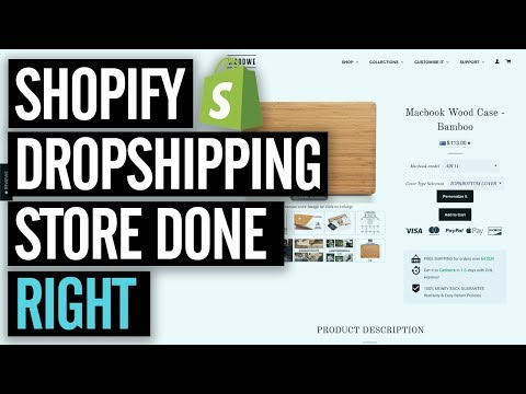 HIGH Converting Shopify Dropshipping Store & Products — 7 Figure Store Review & Case Study! thumbnail