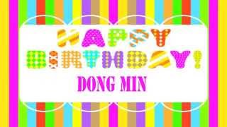 DongMin   Wishes & Mensajes - Happy Birthday