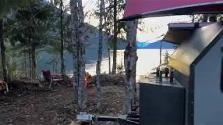 First night camping 2020