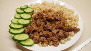 Готовим обалденные куриные желудочки/ Вкусный ужин
