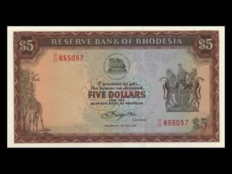 All Rhodesian Dollar Banknotes - 1979 Issue In HD